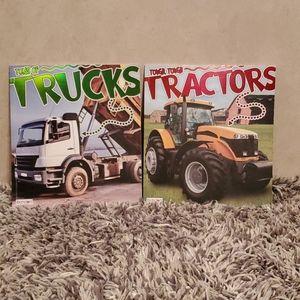 New.. Tons of Trucks and Tough Tough Tractors